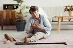 comment reagir en cas de chute personne agee