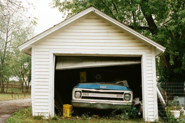 garage camera de surveillance