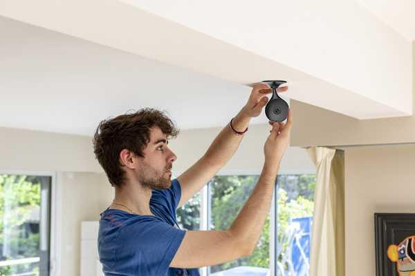 installation facile camera interieur kihome