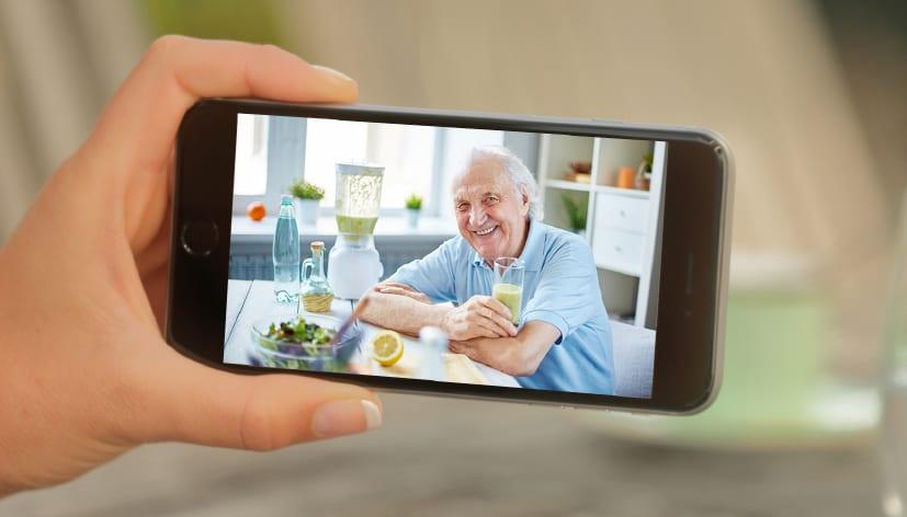 videosurveillance personnes agees